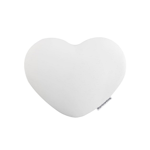Poduszka pod łokieć Rainbowstore Heart White 1