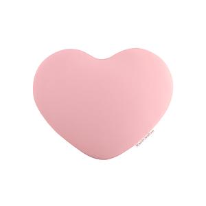 Poduszka pod łokieć Rainbowstore Heart Light pink