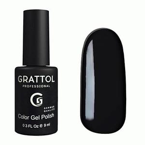 Lakier hybrydowy Grattol Classic Black 9 ml 1
