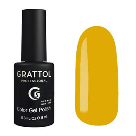 Lakier hybrydowy Grattol Classic Yellow Autumn 9 ml
