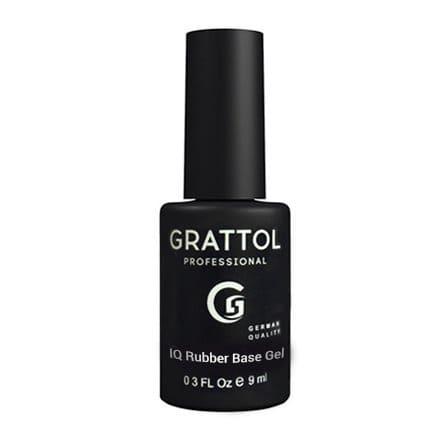 Baza hybrydowa Grattol IQ Rubber Base Gel 9 ml 1