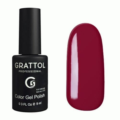 Lakier hybrydowy Grattol Classic Red Ruby 9 ml 1