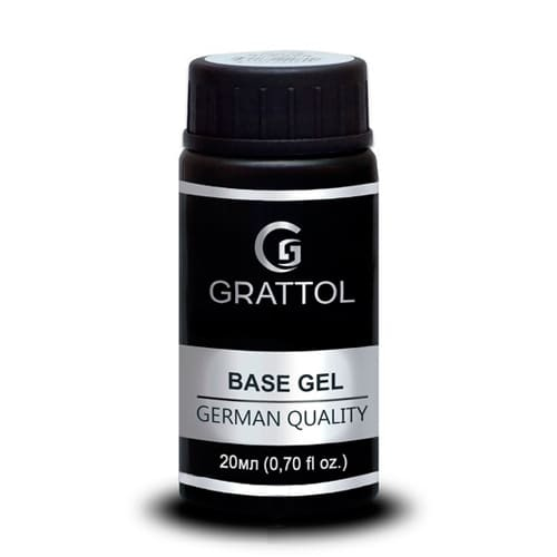 Baza hybrydowa Grattol IQ Rubber Base Gel 20 ml 1