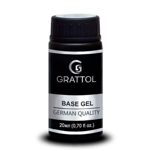 Baza hybrydowa Grattol Rubber Base Gel 20 ml 1