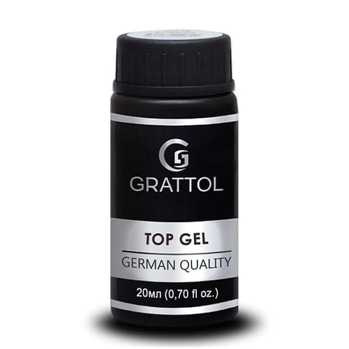 Top hybrydowy Grattol Rubber Top Gel 20 ml 1