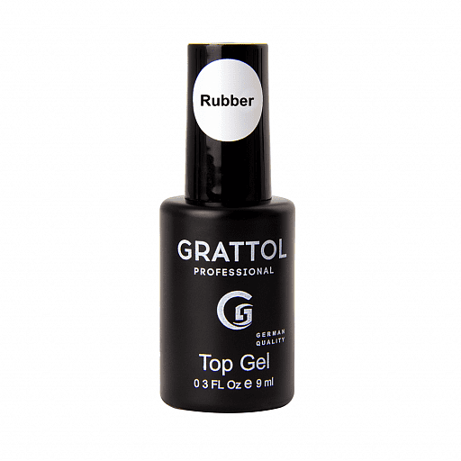 Top hybrydowy Grattol Rubber Top Gel 9 ml