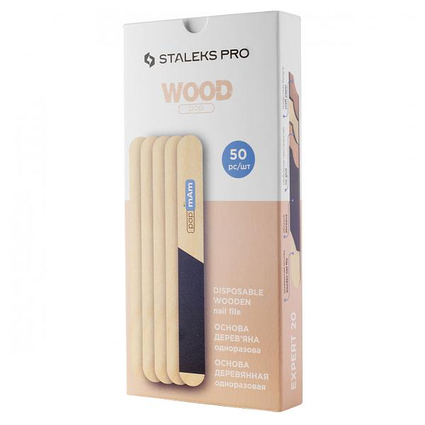 Pilnik drewniany prosty STALEKS PRO EXPERT 20 WBE-20, 50 szt 1