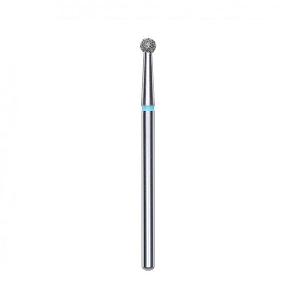 Frez diamentowy kulka 2,7 mm niebieska STALEKS PRO FA01B027