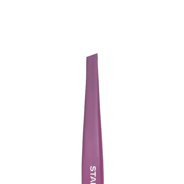 Pęseta do brwi STALEKS PRO EXPERT 11 TYPE 3 TE-11/3 Purple 2