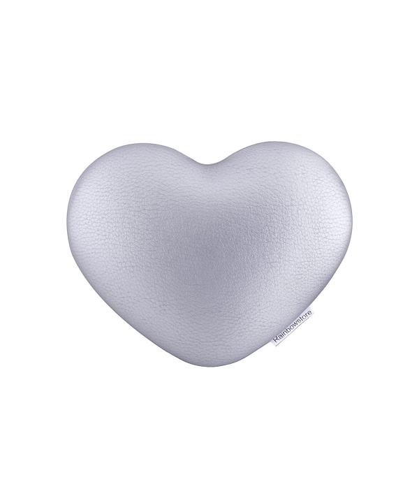 Poduszka pod łokieć Rainbowstore Heart Silver