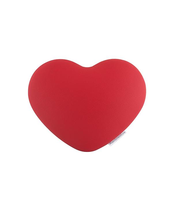 Poduszka pod łokieć Rainbowstore Heart Red