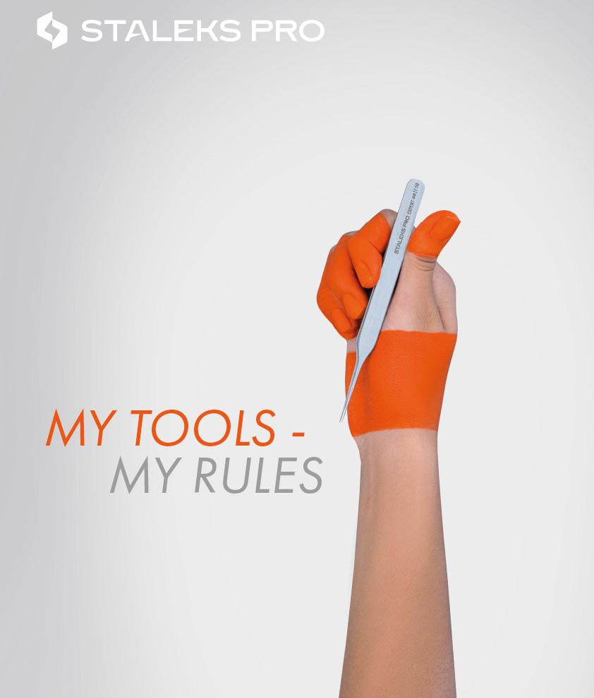 Pęseta do rzęs STALEKS PRO MY TOOLS - MY RULES